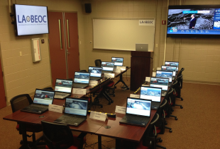Louisiana Business Emergency Operations Center Located in Abdalla Hall