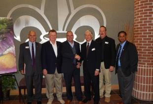 Congressman Clay Higgins Visits NIMSAT and LABEOC